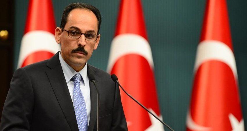 """Καλίν:  """"Στο πλευρό των Παλαιστινίων η Τουρκία"""""""