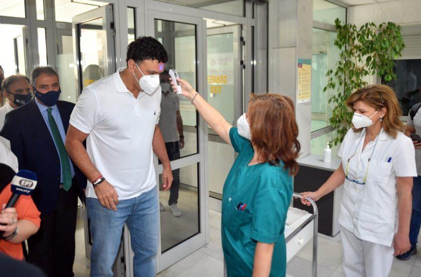 Κικίλιας: Πάνω από 100.000 πολίτες 40-44 έκλεισαν ραντεβού για το εμβόλιο