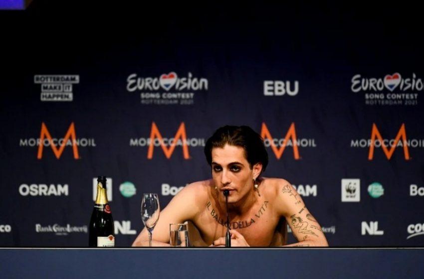 Eurovision 2021:  Περνά από έλεγχο για χρήση ναρκωτικών ο Ιταλός νικητής