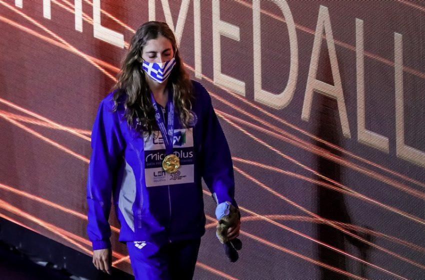 Ντουντουνάκη: Η πρωταθλήτρια Ευρώπης στην κολύμβηση φοβόταν το νερό (vid)