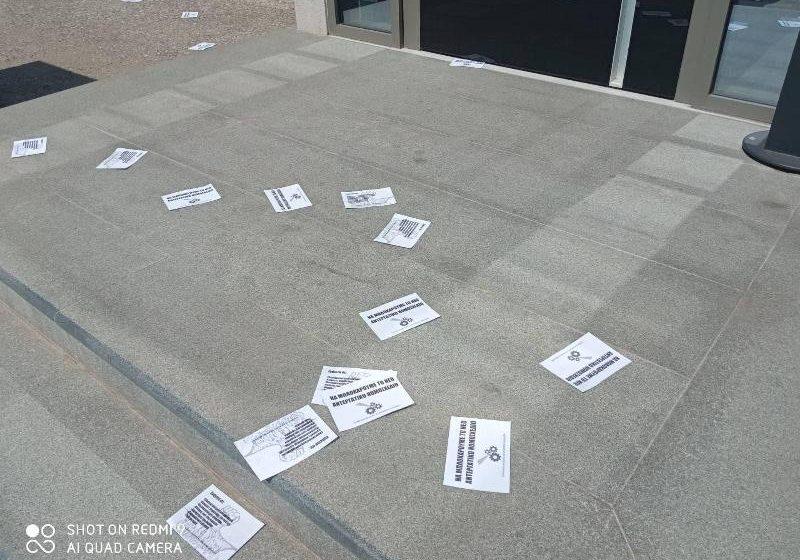 Θεσσαλονίκη: Παρέμβαση στα γραφεία του ΣΒΕ για το εργασιακό