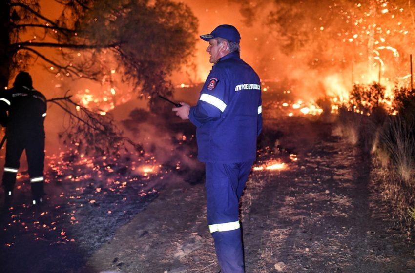 Σχίνος: Δεν έλαβαν μήνυμα από το 112 οι κάτοικοι – Η εξήγηση της Πυροσβεστικής