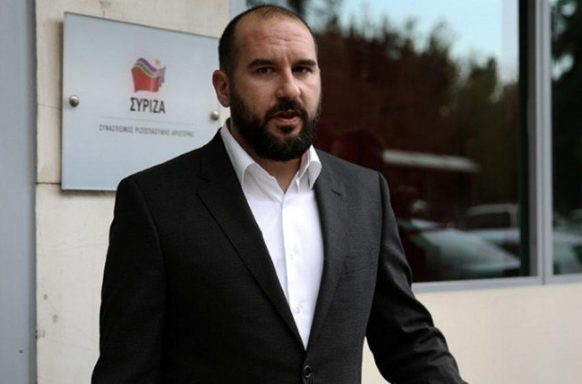 Τζανακόπουλος: Πολεμοκάπηλη και πατριδοκάπηλη η πολιτική της κυβέρνησης