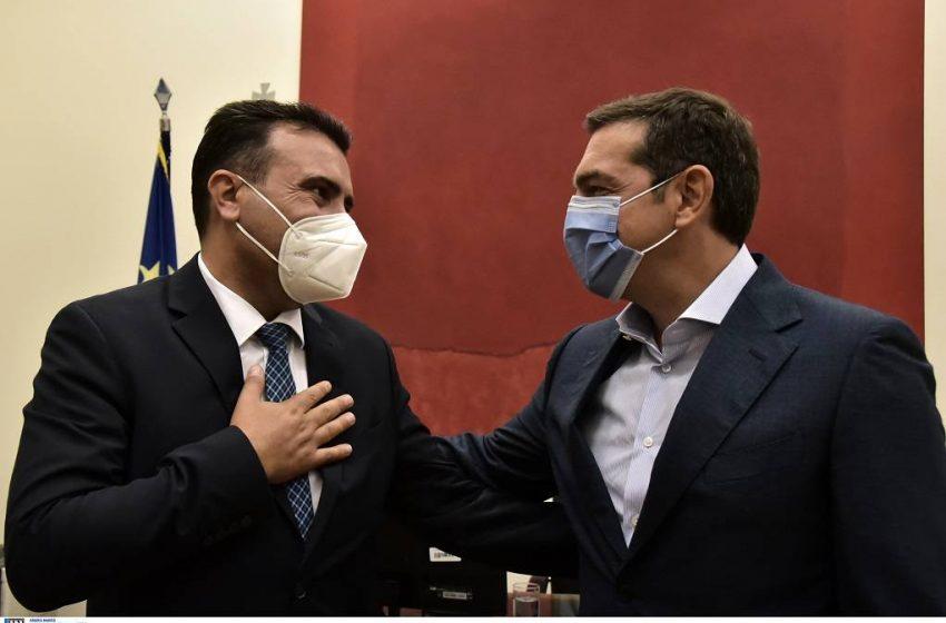 Ζάεφ: Υπόσχεση Μητσοτάκη για τα μνημόνια συνεργασίας – Τσίπρας: Όσοι μας κατηγορούσαν αντιλαμβάνονται τώρα τη σημασία των Πρεσπών