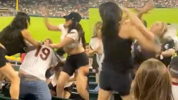 Γυναικοκαβγάς στο γήπεδο έγινε viral (vid)