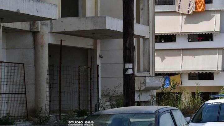 Ναύπλιο: Βρέθηκε πτώμα σε πιλοτή οικοδομής (εικόνες)