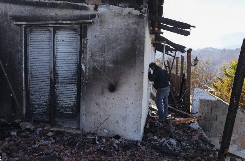 Λογαριασμό για ενίσχυση των πυρόπληκτων στην Κορινθία ανοίγει ο Ελληνικός Ερυθρός Σταυρός