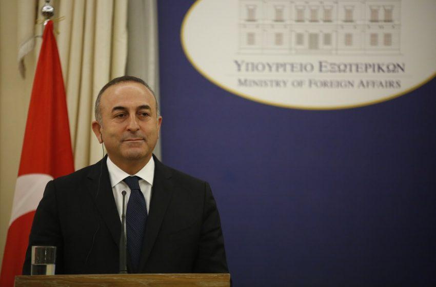 """Τσαβούσογλου: """"Η Ελλάδα απέφυγε το τραπέζι των διαπραγματεύσεων"""""""
