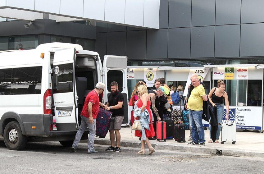 Με οχτώ πτήσεις από το εξωτερικό υποδέχεται το άνοιγμα του τουρισμού η Κέρκυρα