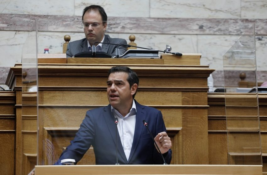 Live η ομιλία του Αλέξη Τσίπρα στην Κοινοβουλευτική Ομάδα του ΣΥΡΙΖΑ-ΠΣ