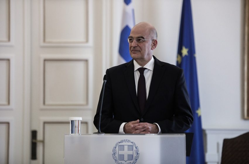 O Δένδιας ενημερώνει τα κόμματα την Τρίτη για τα τρέχοντα θέματα εξωτερικής πολιτικής