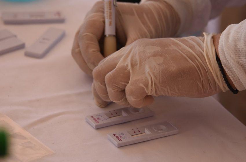 ΕΟΔΥ: Συνολικά 17.822 rapid test την Τρίτη με 288 θετικά