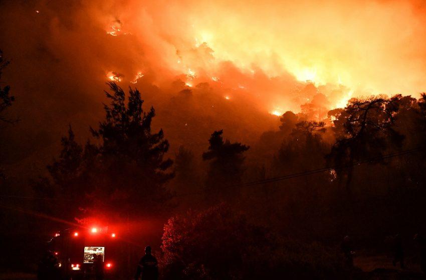 Φωτιά στην Κορινθία: Αγωνία και εικόνες καταστροφής
