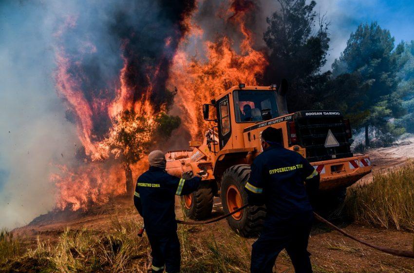 """Σπίρτζης για πυρκαγιά:""""Το επιτελικό κράτος πιάστηκε στον ύπνο"""""""