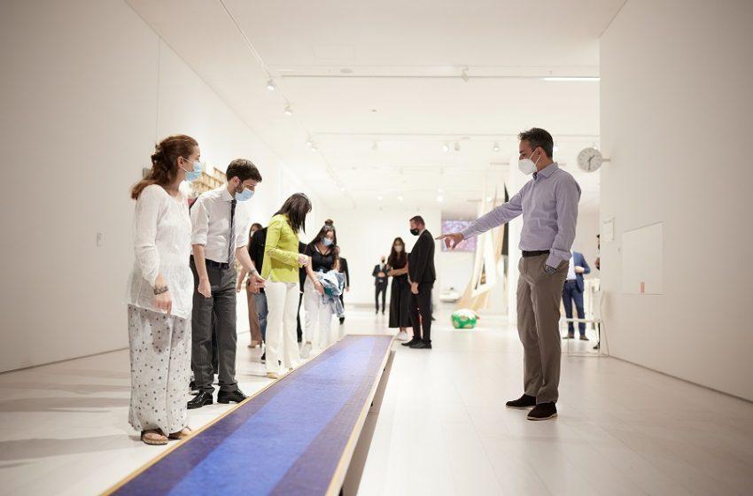 Το Εθνικό Μουσείο Σύγχρονης Τέχνης επισκέφτηκε ο Κυριάκος Μητσοτάκης