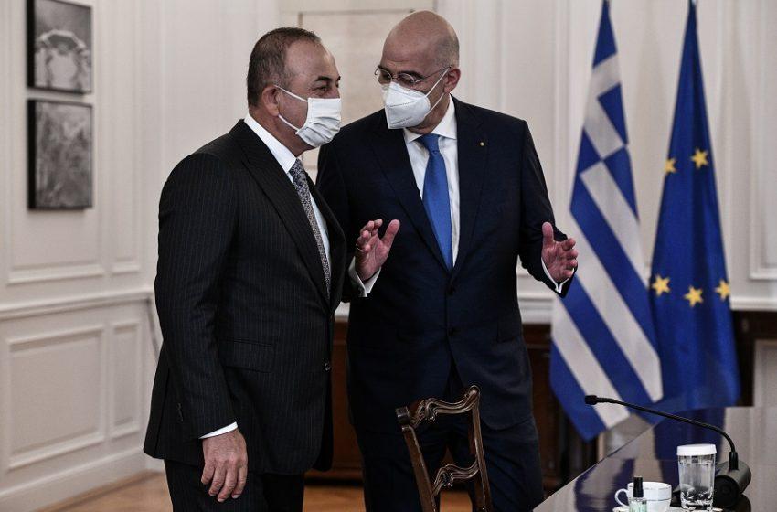 Δένδιας – Τσαβούσογλου: Οι 25 θεματικές για την οικονομική συνεργασία Ελλάδας – Τουρκίας