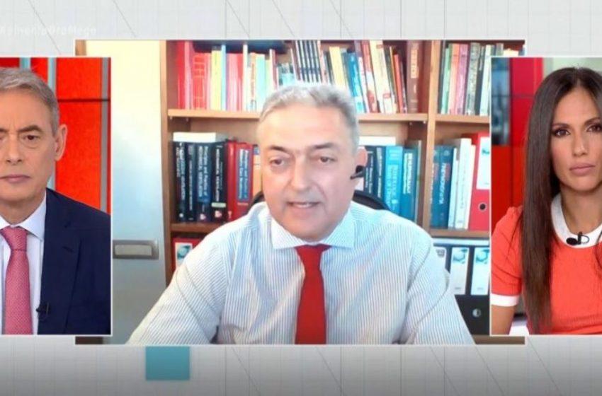 """Βασιλακόπουλος: """"Χωρίς μάσκες οι εμβολιασμένοι σε εξωτερικούς χώρους"""""""