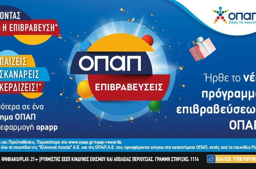ΟΠΑΠ επιβραβεύσεις: Προνόμια και δώρα μέσω της εφαρμογής OPAPP στο κινητό σας