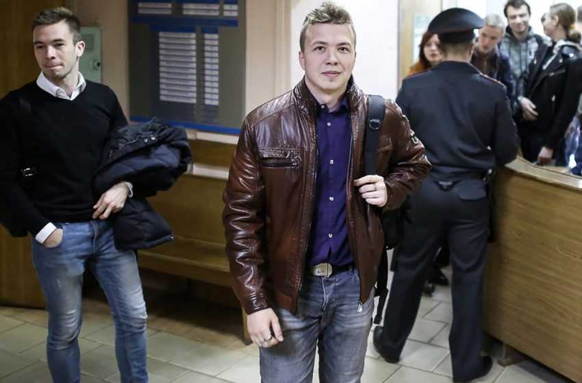 """Τυχαία η σύλληψη του Προτασέβιτς υποστηρίζει η Λευκορωσία – """"Τον είδανε στο ίντερνετ"""""""