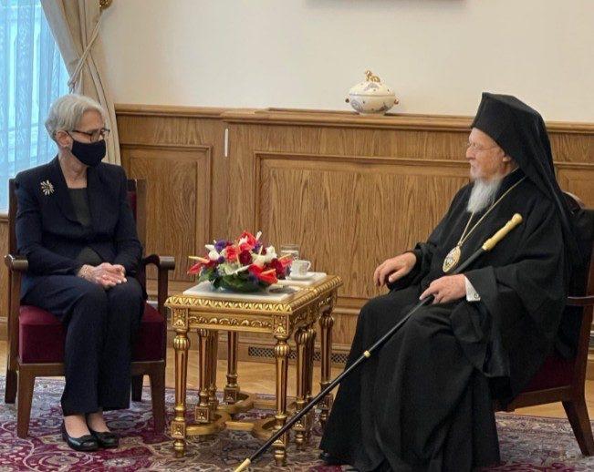 Επίσημη επίσκεψη της αναπληρώτριας υπ. Εξωτερικών των ΗΠΑ στο Οικουμενικό Πατριαρχείο