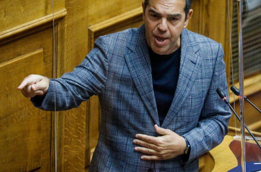 """Tσίπρας: """"Ο Μητσοτάκης είναι ο μεγαλύτερος δημαγωγός στη νεότερη ιστορία του τόπου"""""""