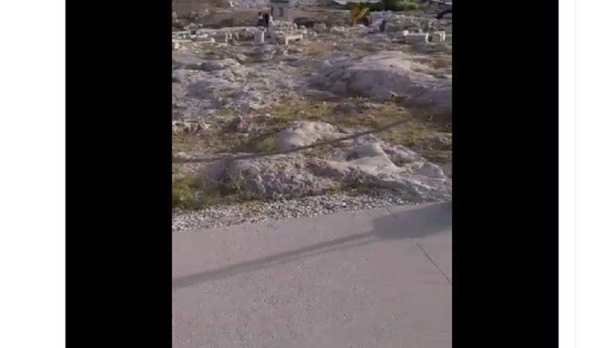 Βίντεο από τις εργασίες με κομπρεσέρ στην Ακρόπολη – Φθορά σε αρχαίο γλυπτό (vid)