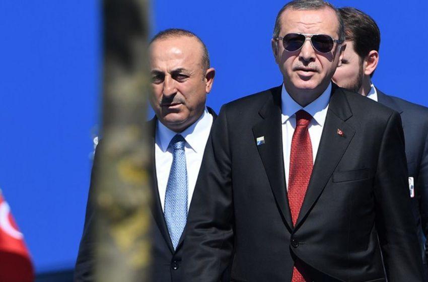 Ερντογάν – Τσαβούσογλου: Δηλώσεις έπαρσης λίγο πριν την Αθήνα