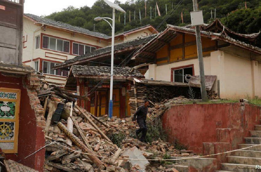 Κίνα: Σεισμοί 6 και 7,4R – Δύο νεκροί και πολλοί τραυματίες