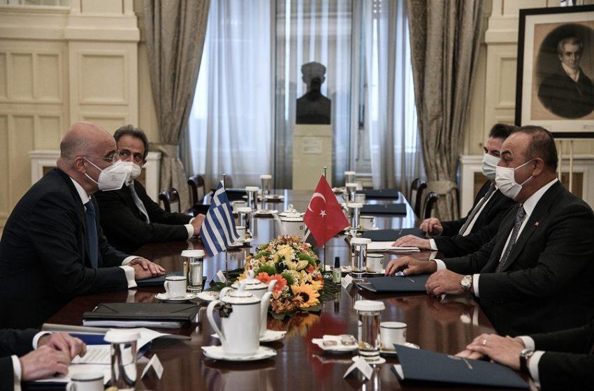 Διπλωματικές πηγές: Όλη η ατζέντα των ελληνοτουρκικών στη συνάντηση Δένδια – Τσαβούσογλου