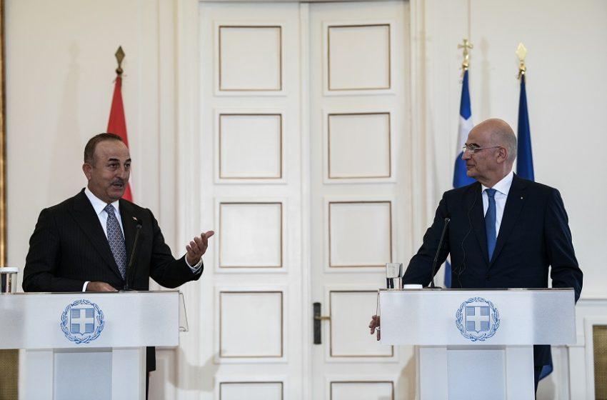 """""""Κλείδωσε"""" η συνάντηση Μητσότακη – Ερντογάν – Οι ανακοινώσεις των ΥΠΕΞ Δένδια και Τσαβούσογλου"""