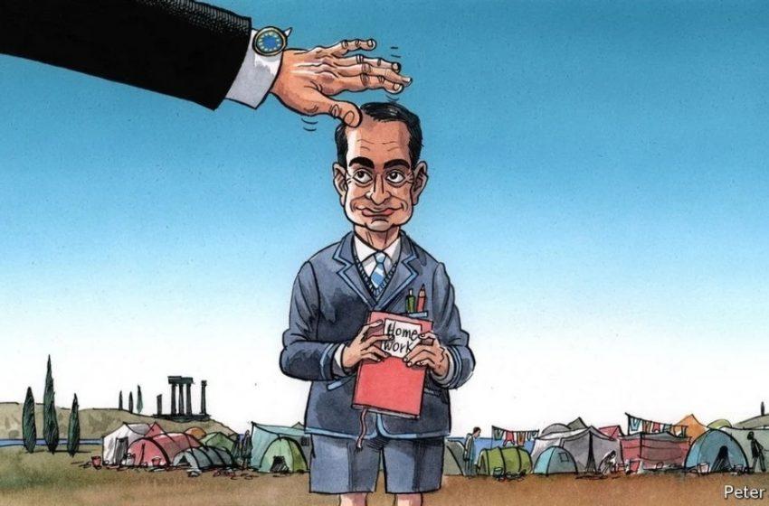 "Economist : Πως η Ελλάδα έγινε το ""φυτό"" της Ευρωπαϊκής Ένωσης στο προσφυγικό"