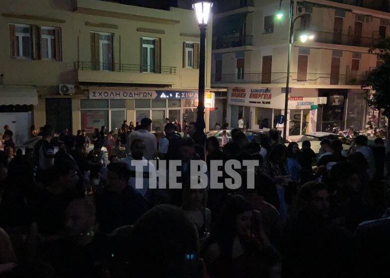 Πάτρα: Πάρτι στις…σκάλες μετά την απαγόρευση (vid)