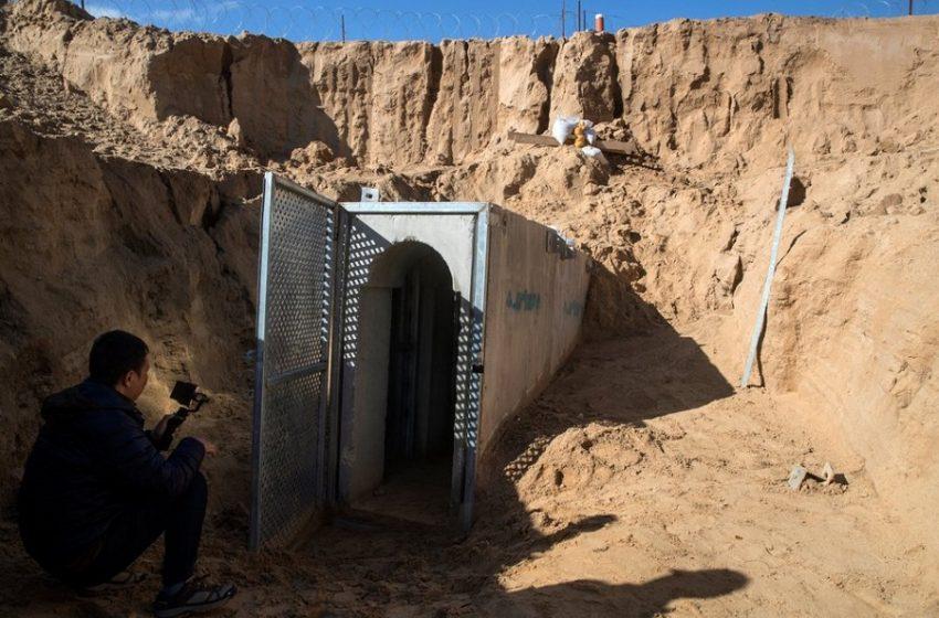 Γάζα: Πέντε νεκροί και δέκα τραυματίες εντοπίστηκαν σε τούνελ