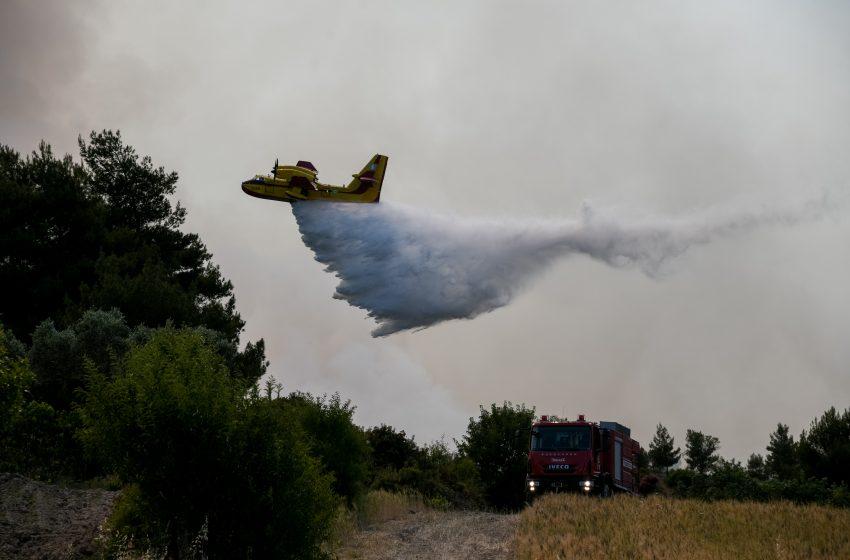 Δύο πυρκαγιές σε Αρκαδία – Λακωνία
