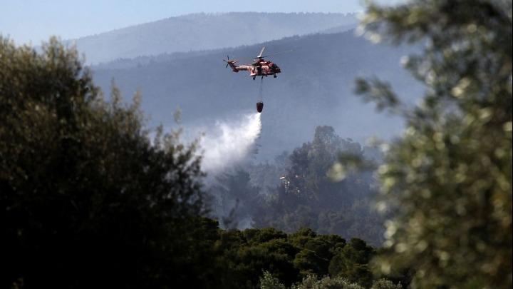Πυροσβεστική: Για προληπτικούς λόγους η απομάκρυνση κατοίκων από τους οικισμούς Παπαγιαννέϊκα και Καλκάνι