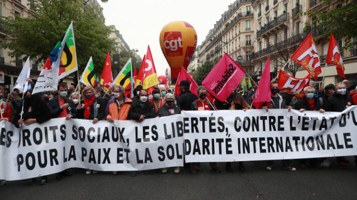 Γαλλία: Διαδηλώσεις για την Εργατική Πρωτομαγιά