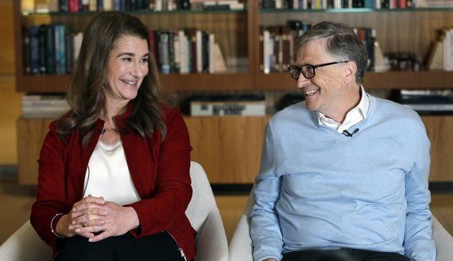 Χωρίζουν ο Μπιλ και η Μελίντα Γκέιτς, έπειτα από 27 χρόνια γάμου