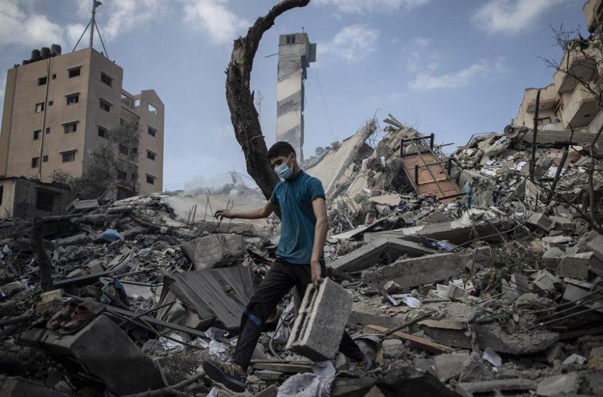 Κατάπαυση του πυρός στη Γάζα – Eκεχειρία με 232 νεκρούς (65 παιδιά) και απέραντα συντρίμμια