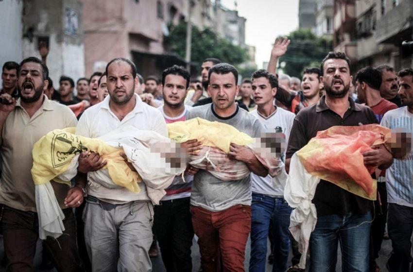 Τουλάχιστον 40 Παλαιστίνιοι σκοτώθηκαν σε ισραηλινές αεροπορικές επιδρομές στη Γάζα