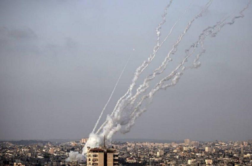 Περίπου 3.000 ρουκέτες εκτοξεύτηκαν από τη Γάζα προς το Ισραήλ από τη Δευτέρα