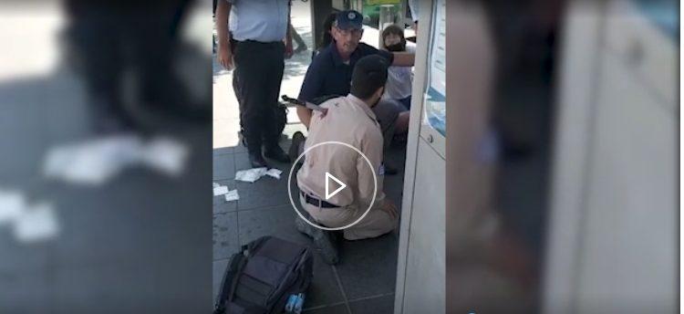 Ιερουσαλήμ: Ισραηλινός με το μαχαίρι στην πλάτη μετά από επίθεση εναντίον στρατιωτών (vid)