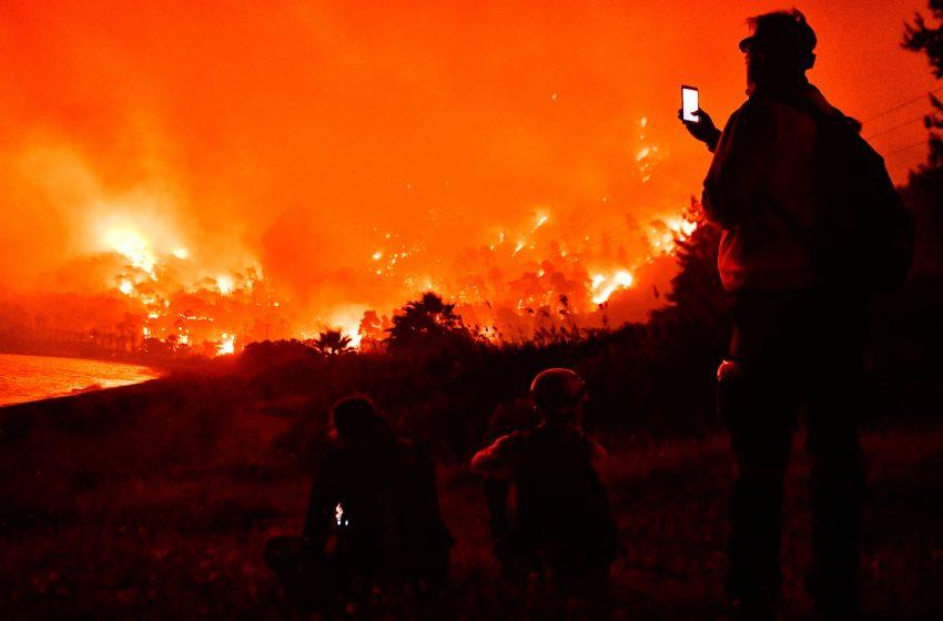 Κριτική στα κανάλια για τον τρόπο κάλυψης της καταστροφικής φωτιάς στα Γεράνεια