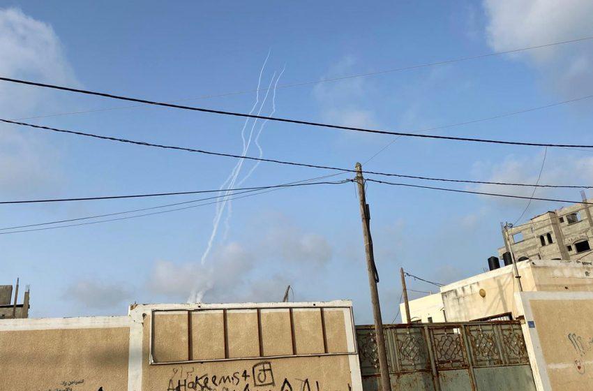 Ρουκέτες από τη Γάζα έπληξαν την Ιερουσαλήμ