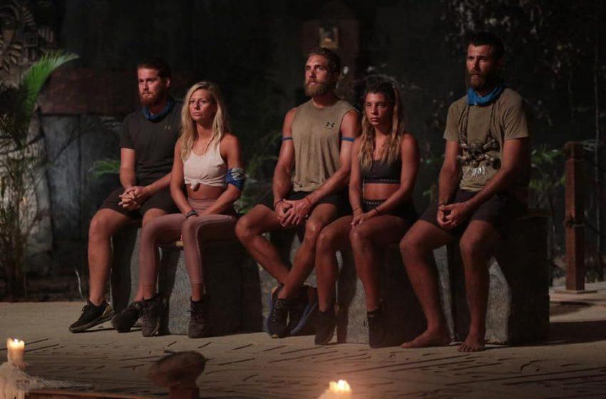 Survivor: Η στιγμή της αποχώρησης του Τζέιμς