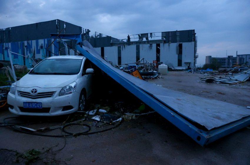 Κίνα: Τουλάχιστον δέκα νεκροί από ανεμοστρόβιλους