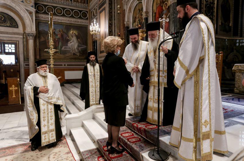 Ο Αρχιεπίσκοπος Ιερώνυμος τέλεσε το ετήσιο μνημόσυνο του Δ. Κρεμαστινού