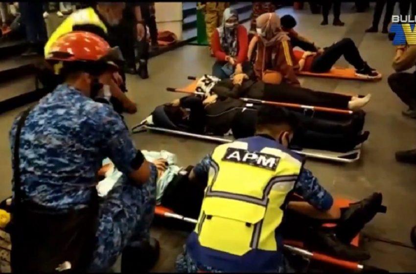 Μαλαισία: Σύγκρουση συρμών του μετρό – Εκατοντάδες τραυματίες (vid)