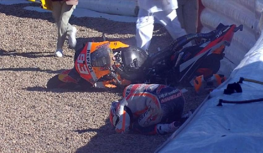 Moto GP: Σοκαριστικό ατύχημα Μάρκεθ