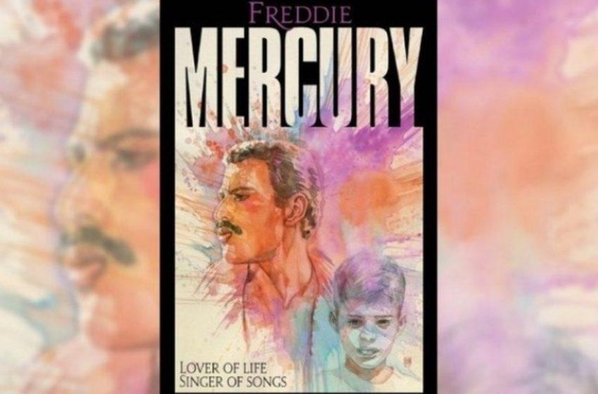 Φρέντι Μέρκιουρι: Graphic novel για τη ζωή του