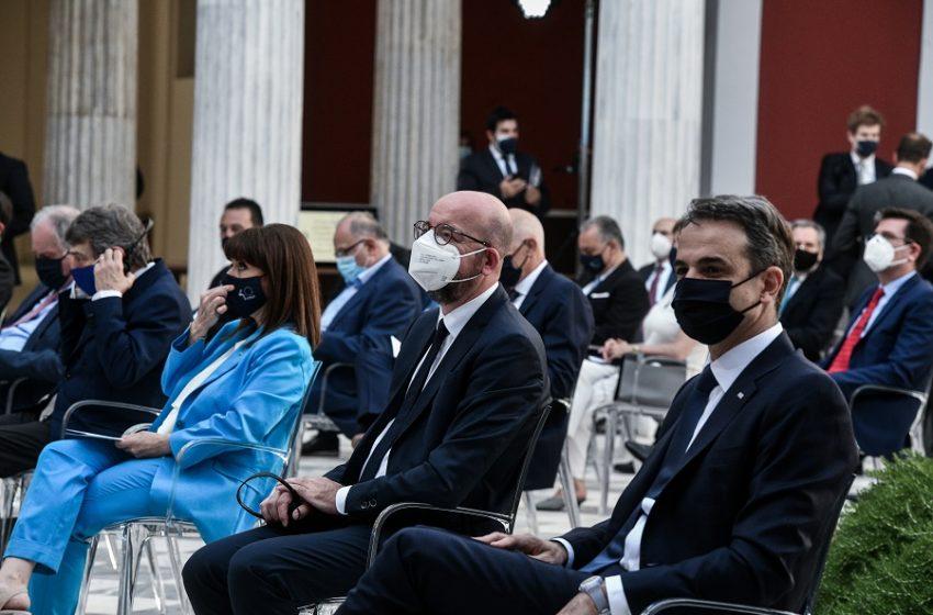 Μητσοτάκης: Η ένταξη στην Ευρώπη αδιαπραγμάτευτη συνιστώσα της ταυτότητας της χώρας μας